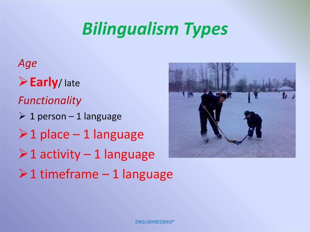 Bilingualism Types