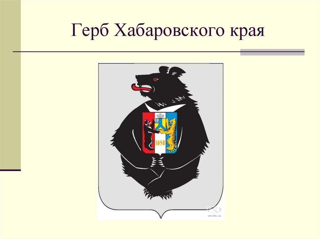 меня новый герб хабаровского края фото новых
