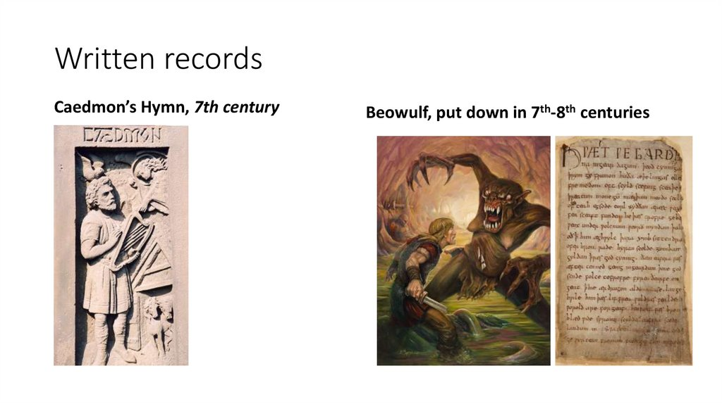 Written records