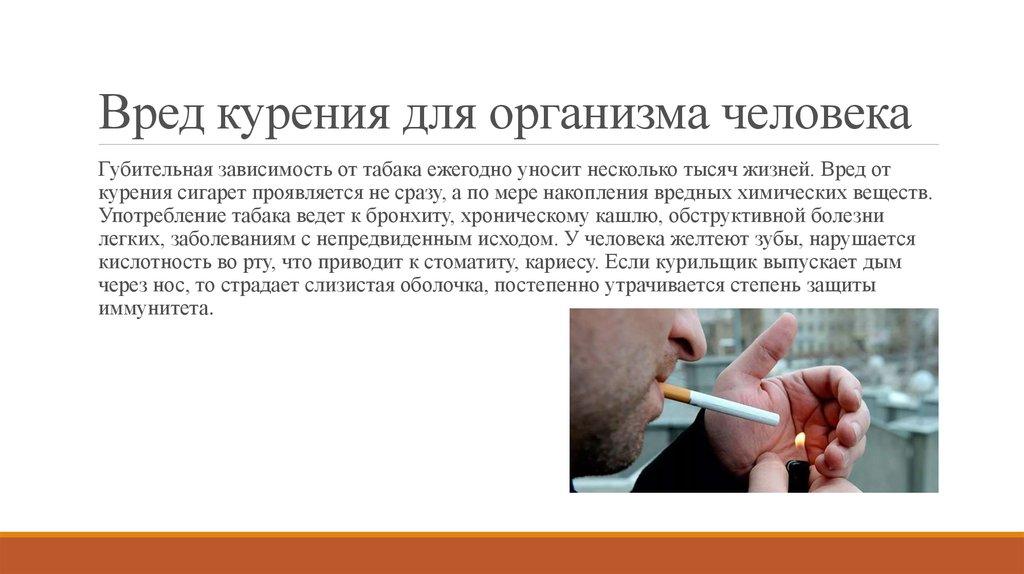 Табачные изделия и их влияние на организм человека сигареты мелким оптом в москве без акциза