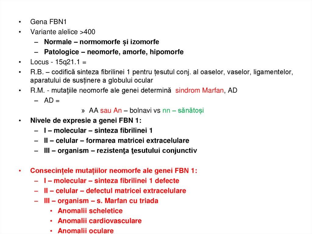 boli ale genelor țesutului conjunctiv