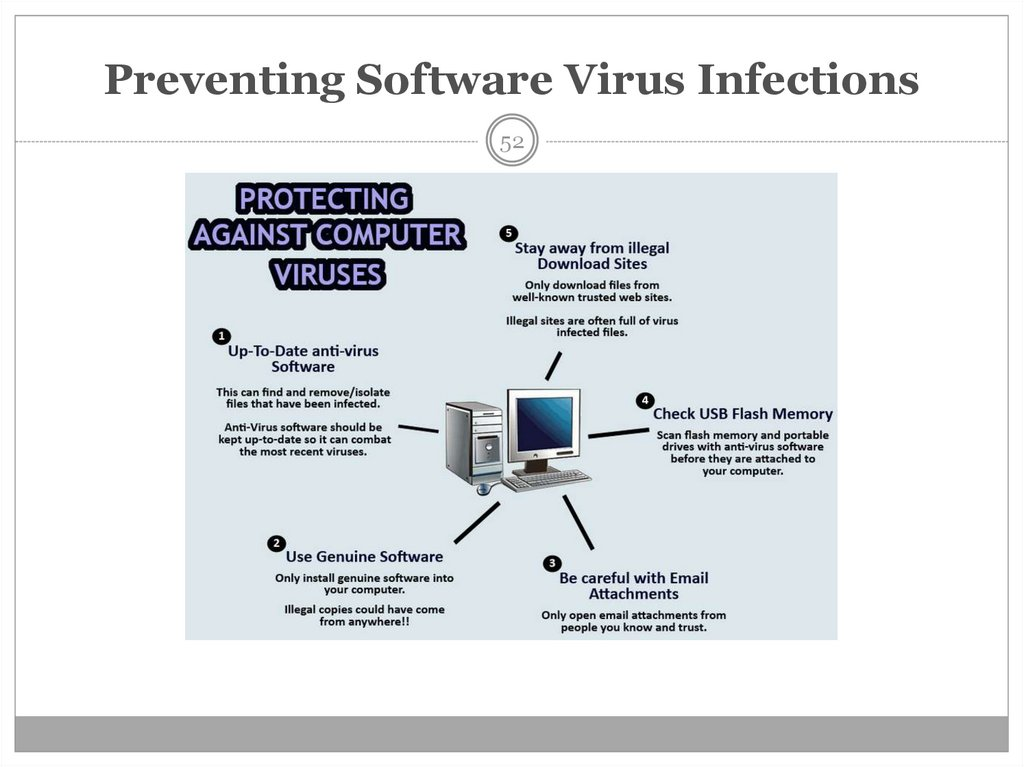 Preventing Software Virus Infections