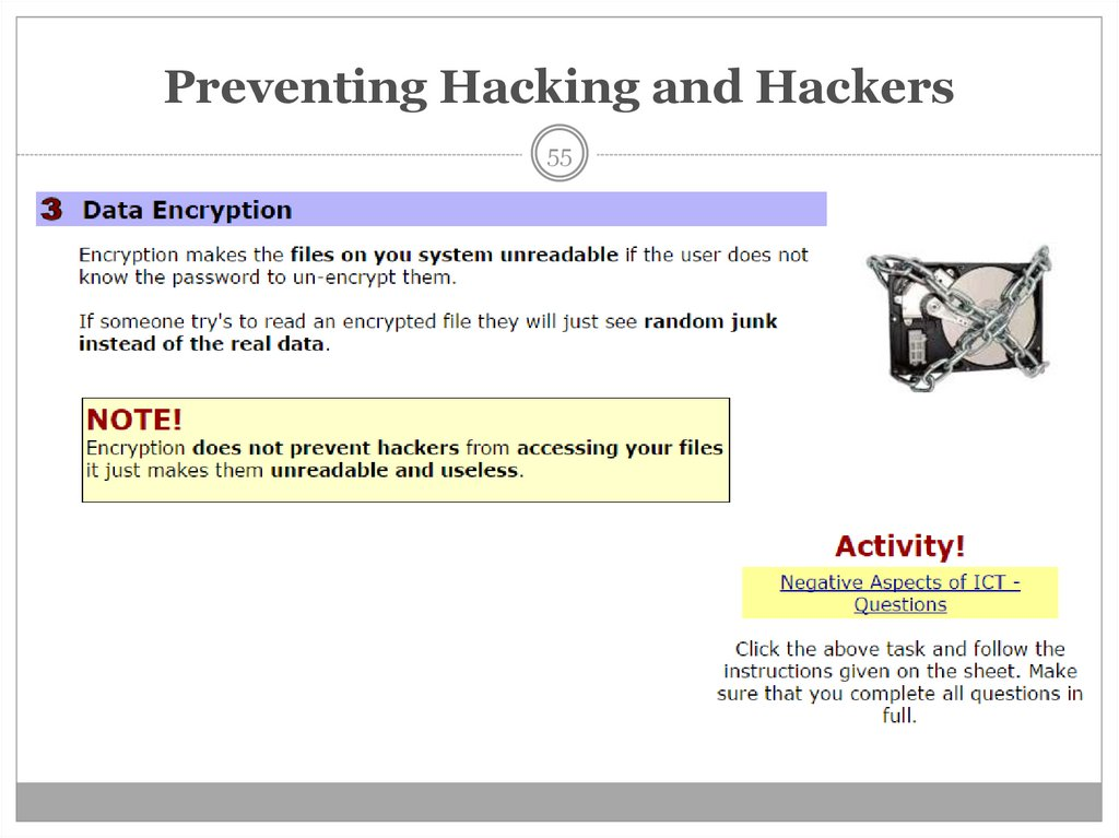 Preventing Hacking and Hackers