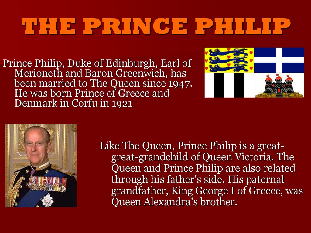 THE PRINCE PHILIP