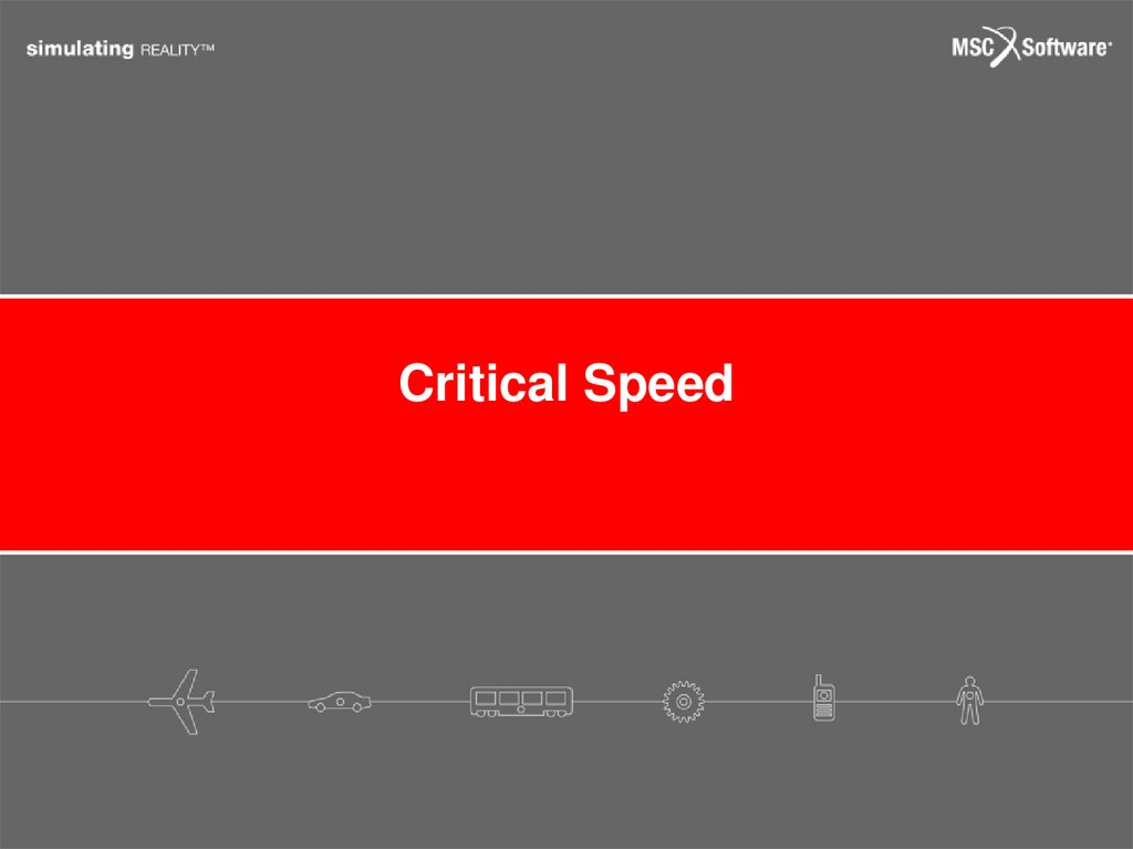 Critical Speed