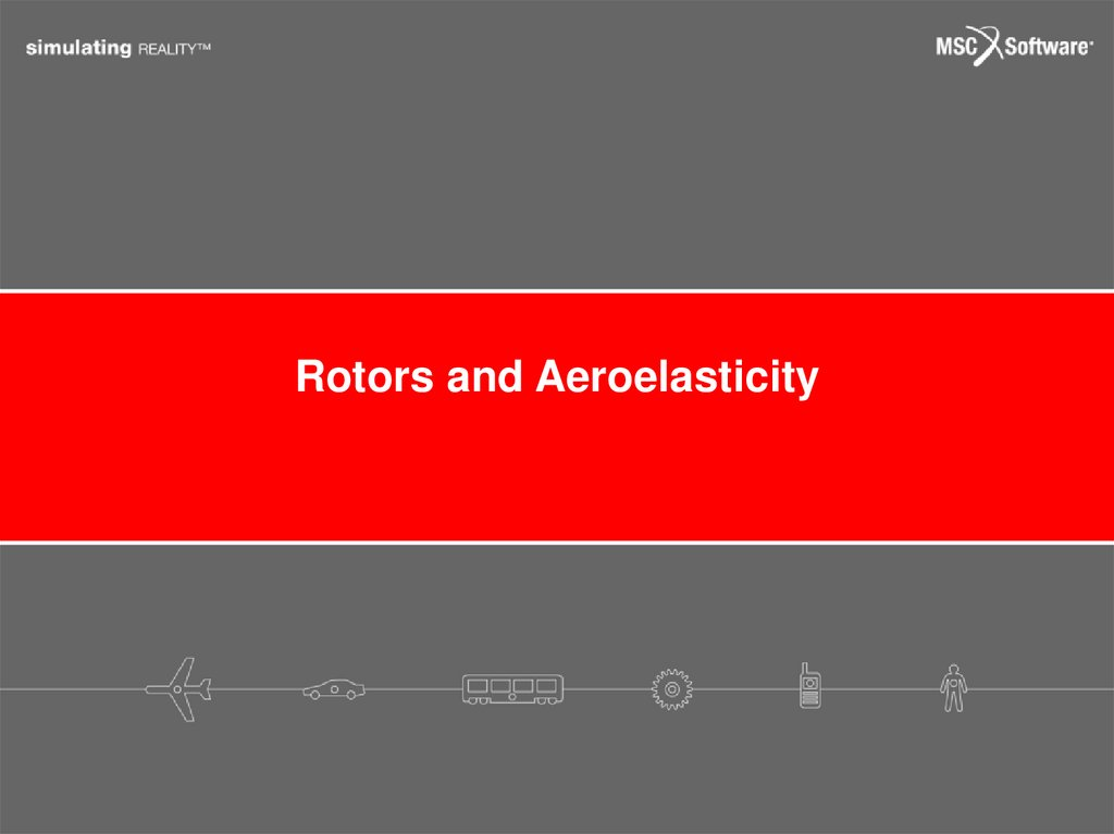 Rotors and Aeroelasticity