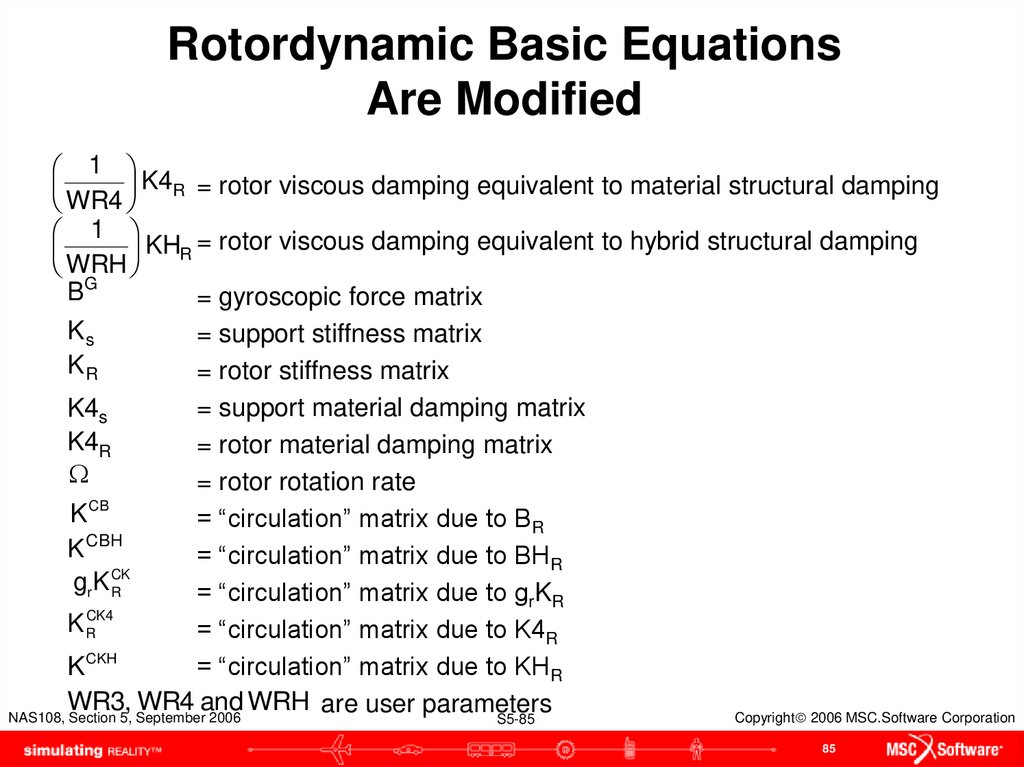Rotordynamic Basic Equations Are Modified