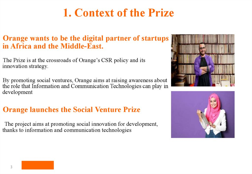 1. Context of the Prize