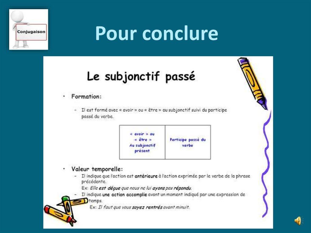 Subjonctif Passe Online Presentation