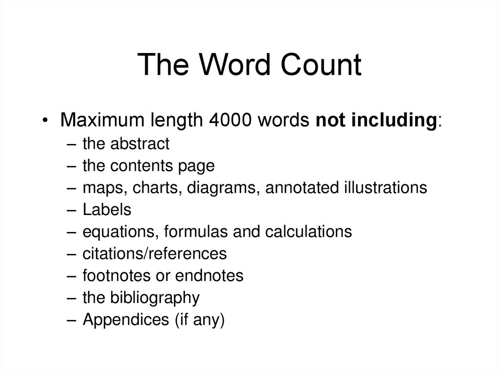 Extended essay word count references critical expository essay