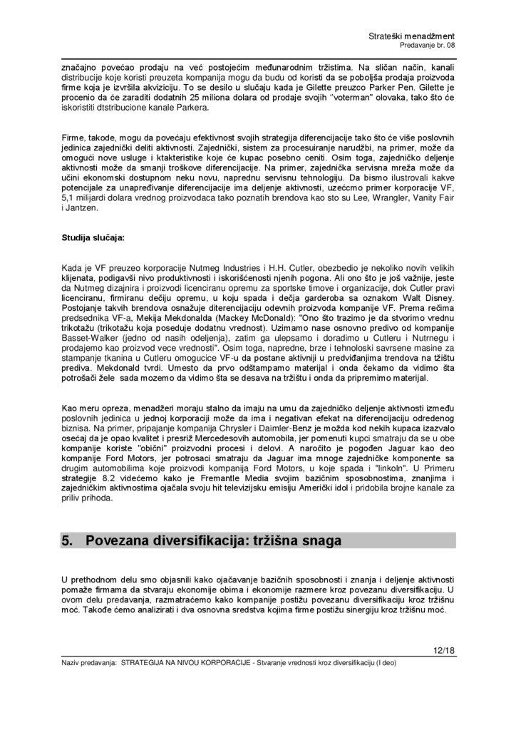 walt disney kompanijos diversifikavimo strategija