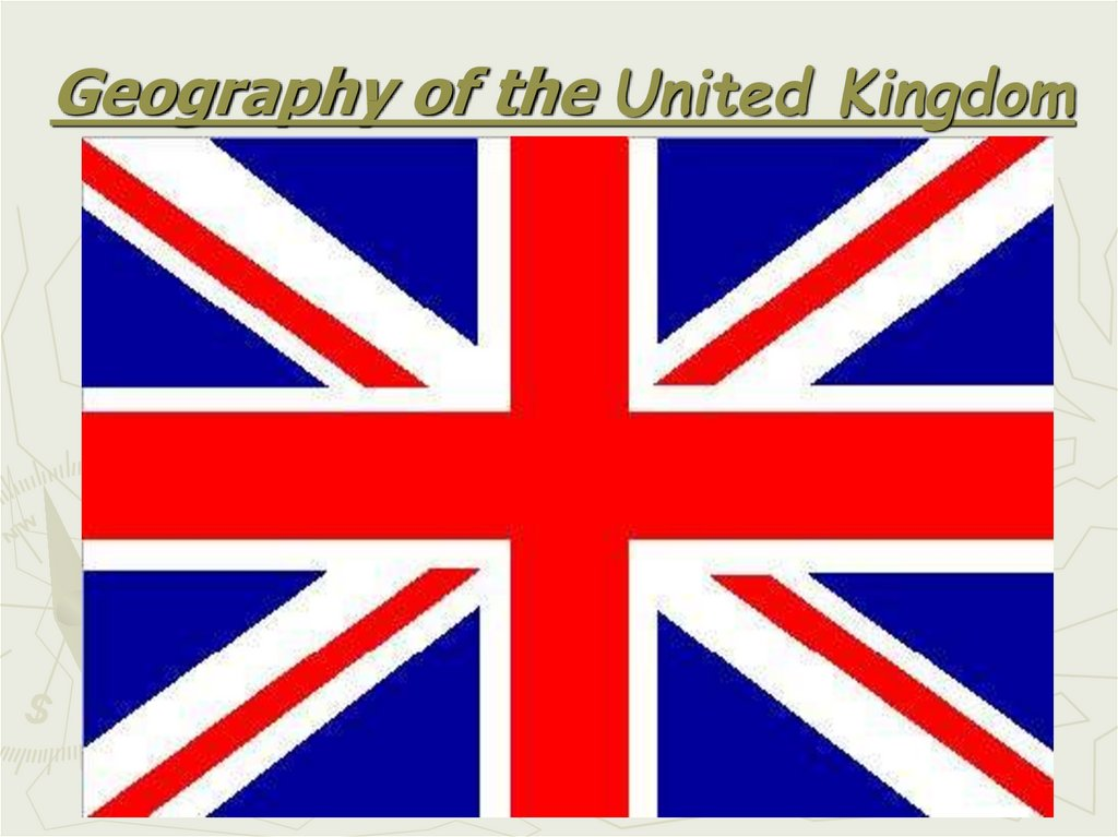 Geography of the United Kingdom