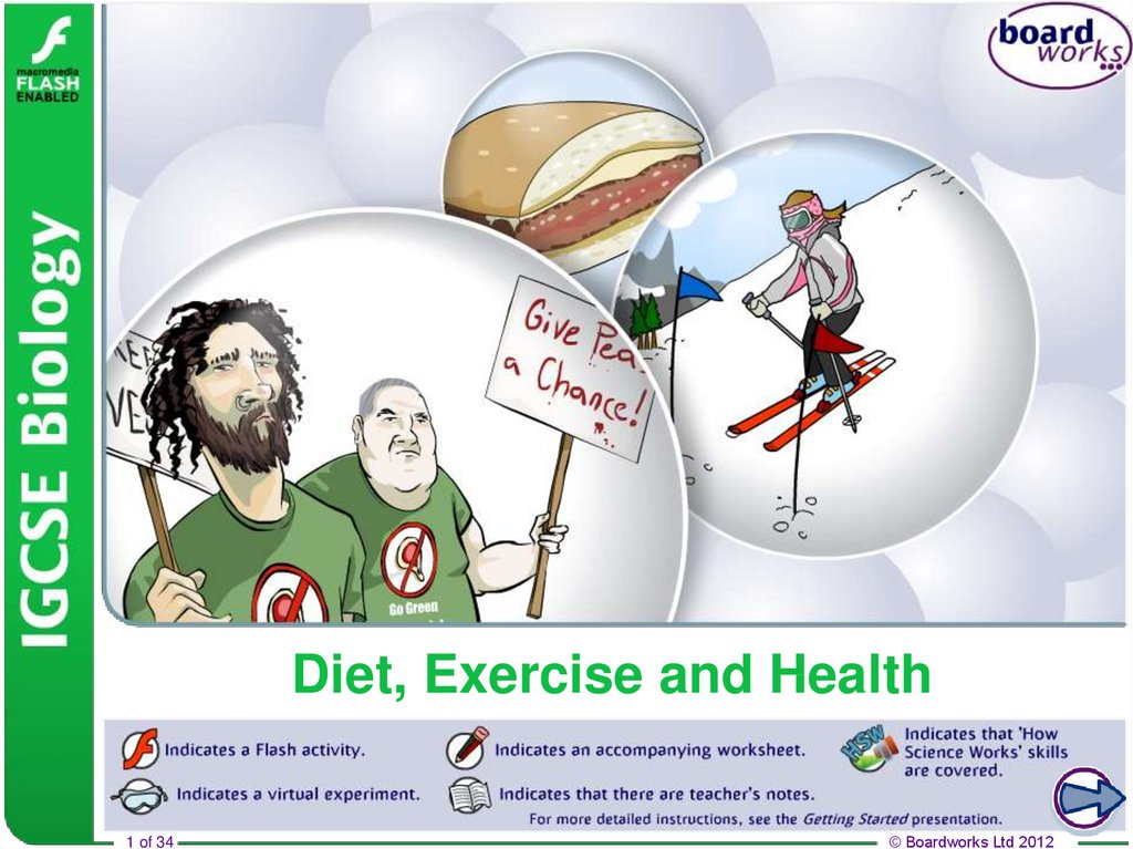 Diet, Exercise and Health