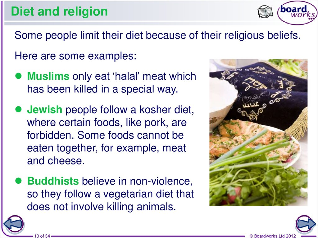 Diet and religion