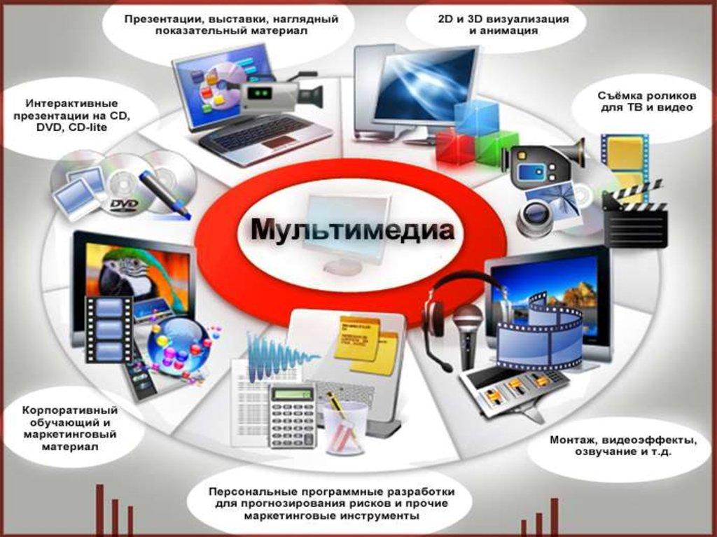 Мультимедиа презентация в картинках