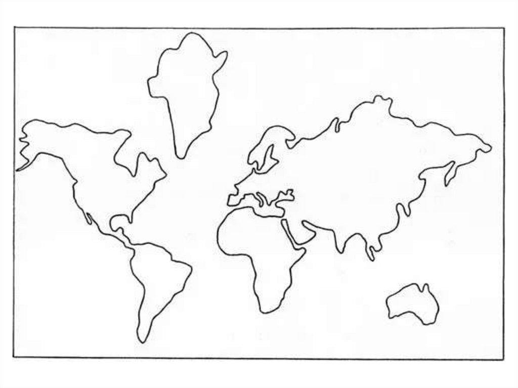 общем, картинки контур континента комплектацию