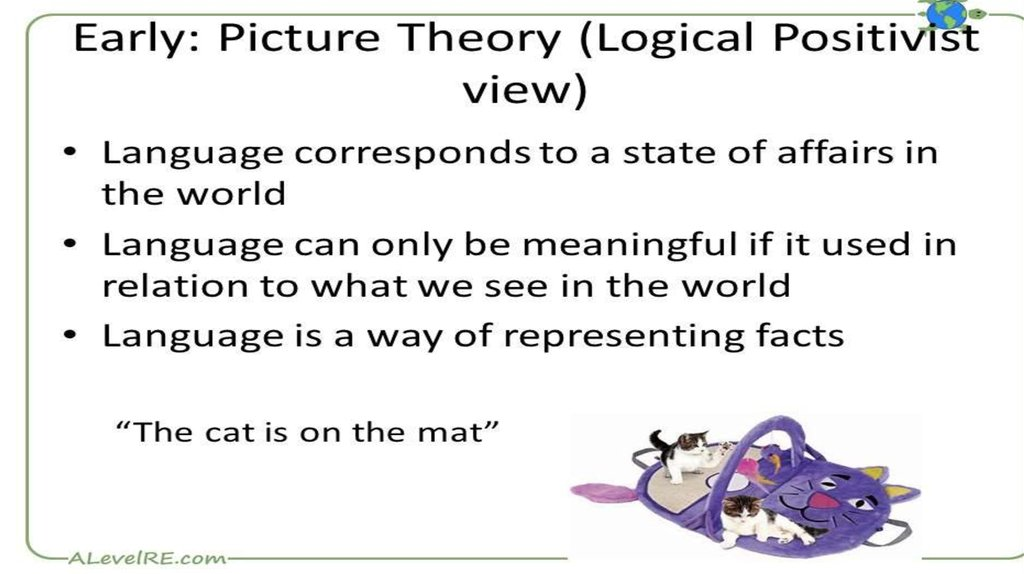 The picture theory of language.