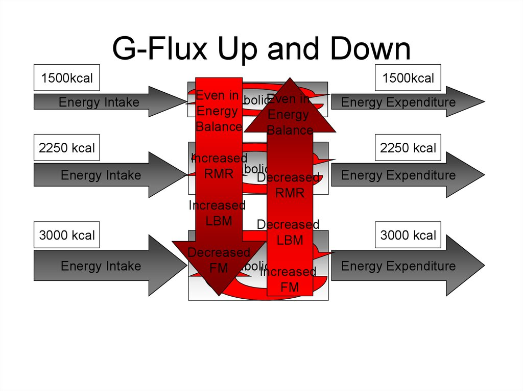 G-Flux Up and Down