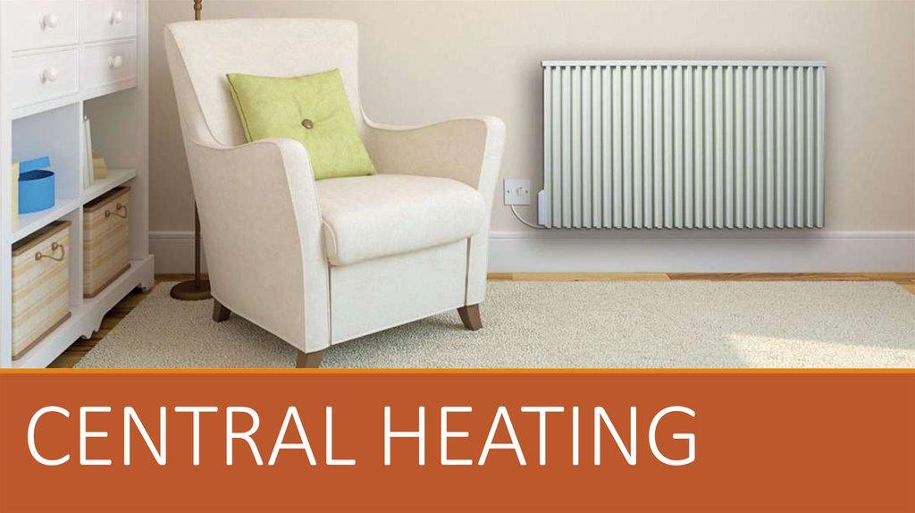 Central heating - online presentation