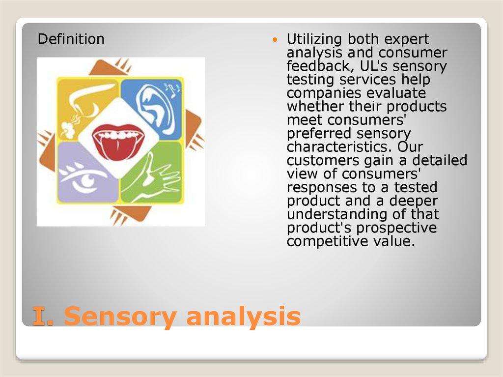 Sensory Testing Of Food Products Prezentaciya Onlajn