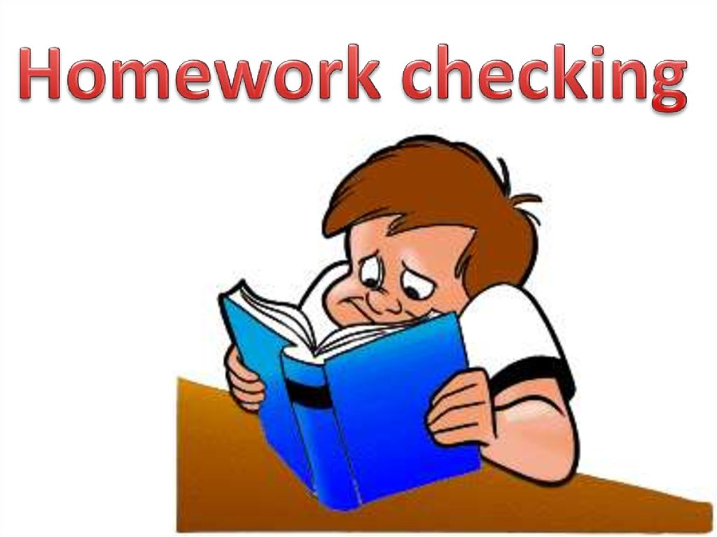 Homework checking