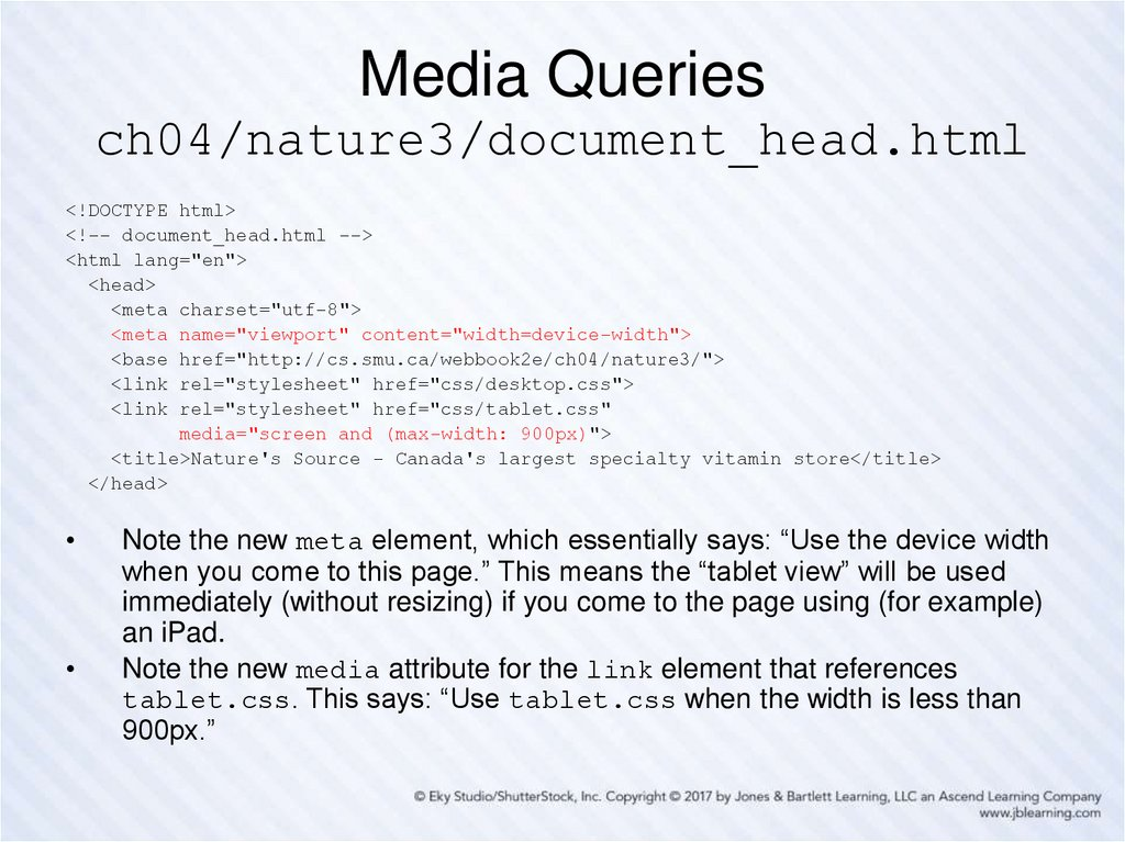 Media Queries ch04/nature3/document_head.html
