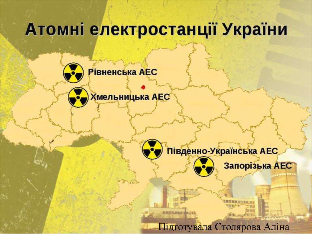 А́томна електроста́нція (АЕС) - презентация онлайн