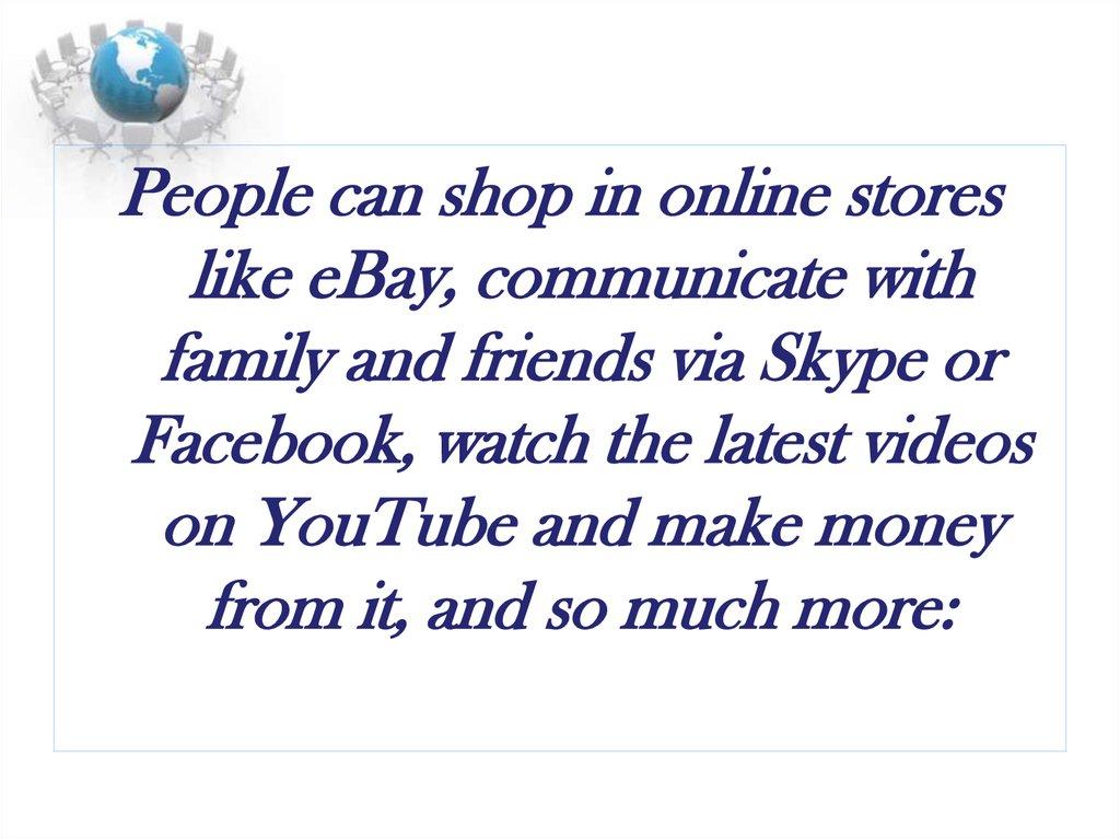 Advantages And Disadvantages Of Internet Online Presentation