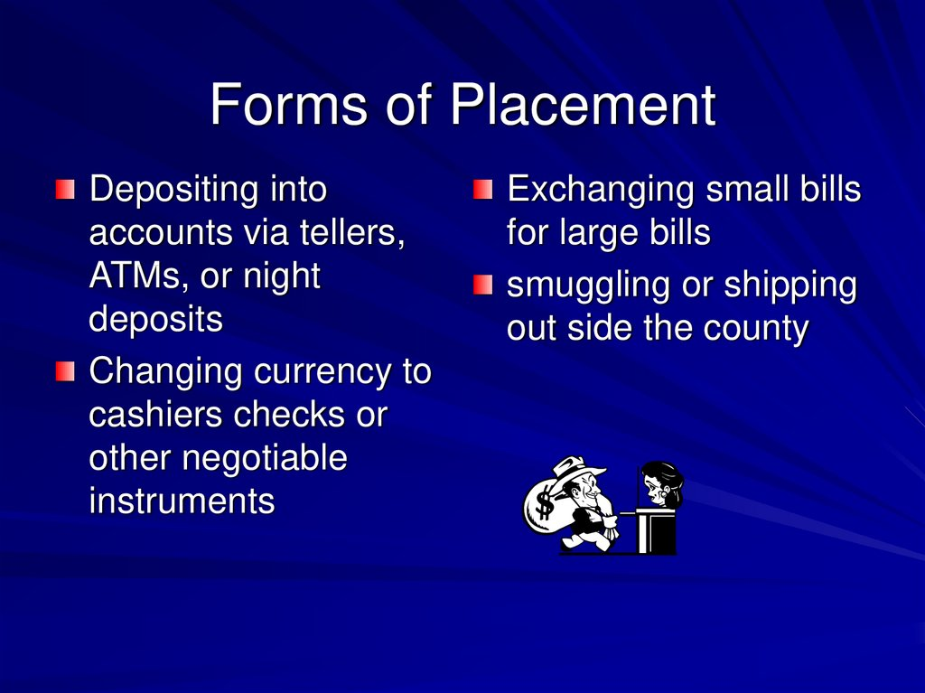 Forms of Placement
