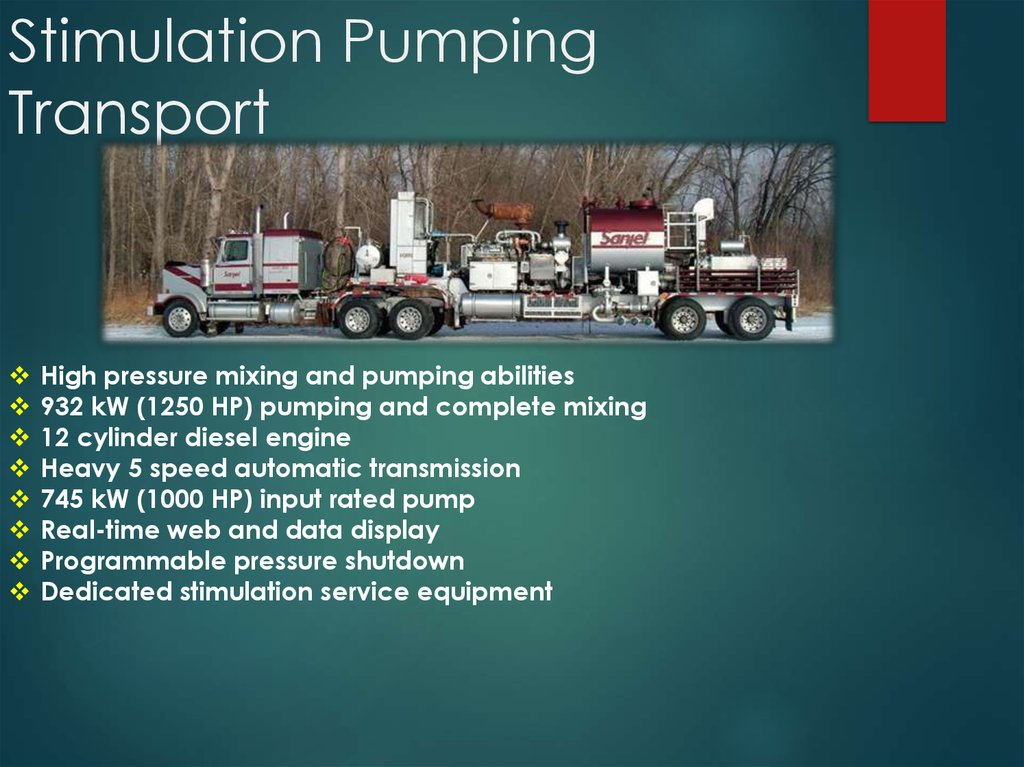 Stimulation Pumping Transport