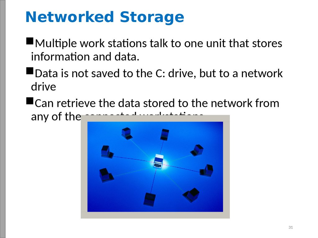 Networked Storage