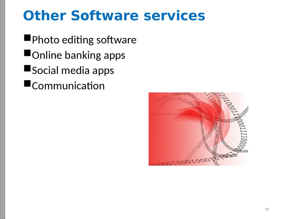 Other Software services