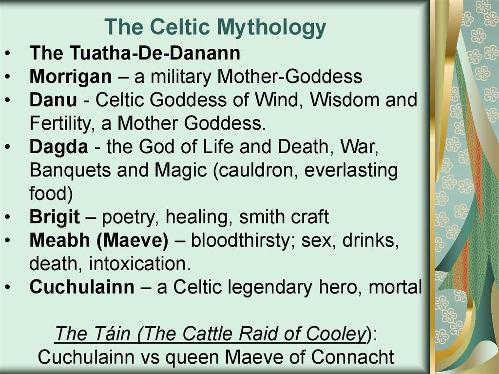 The Celtic Mythology