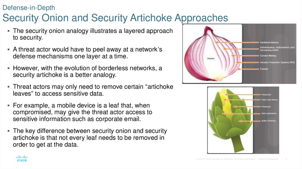 Protecting The Network Online Presentation