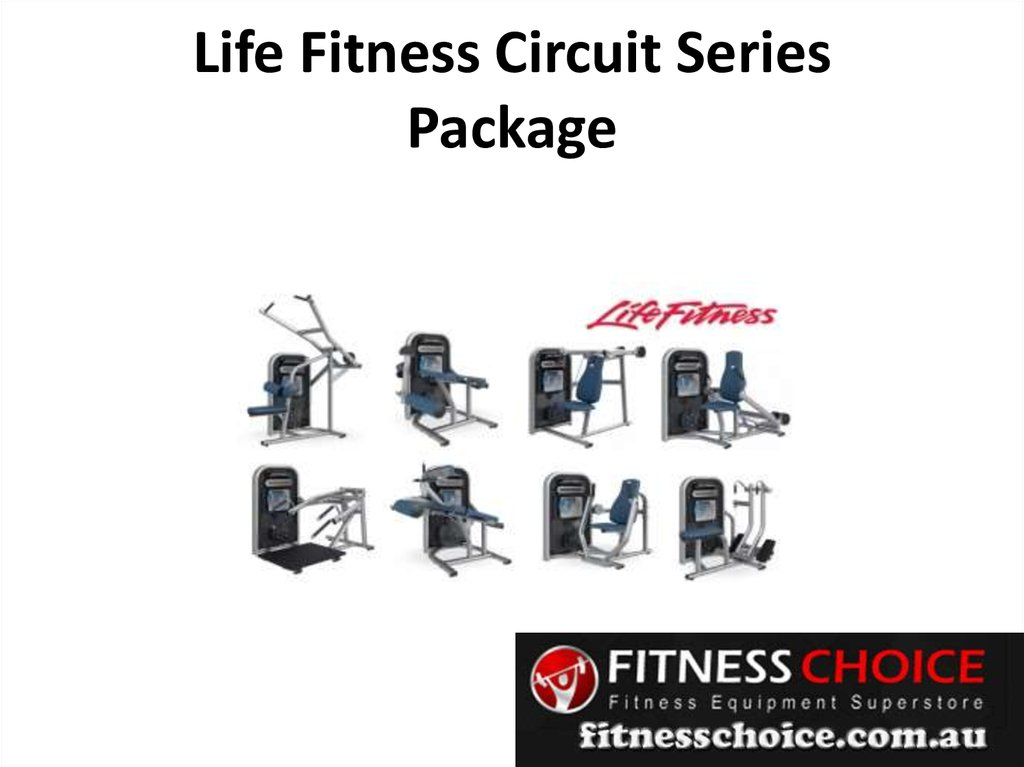 Life Fitness Circuit Series Package