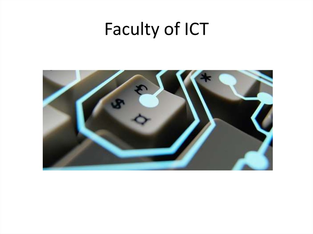 Faculty of ICT