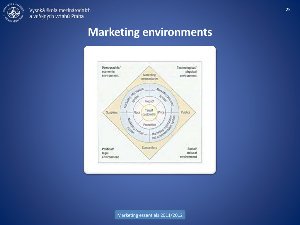 Marketing environments