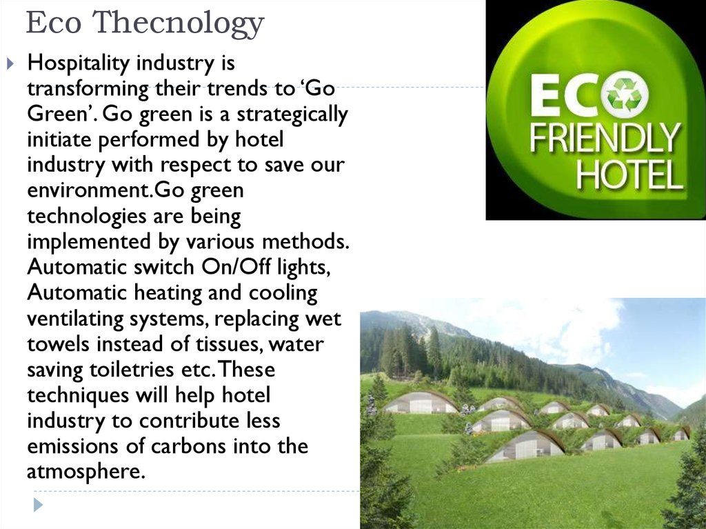 Eco Thecnology