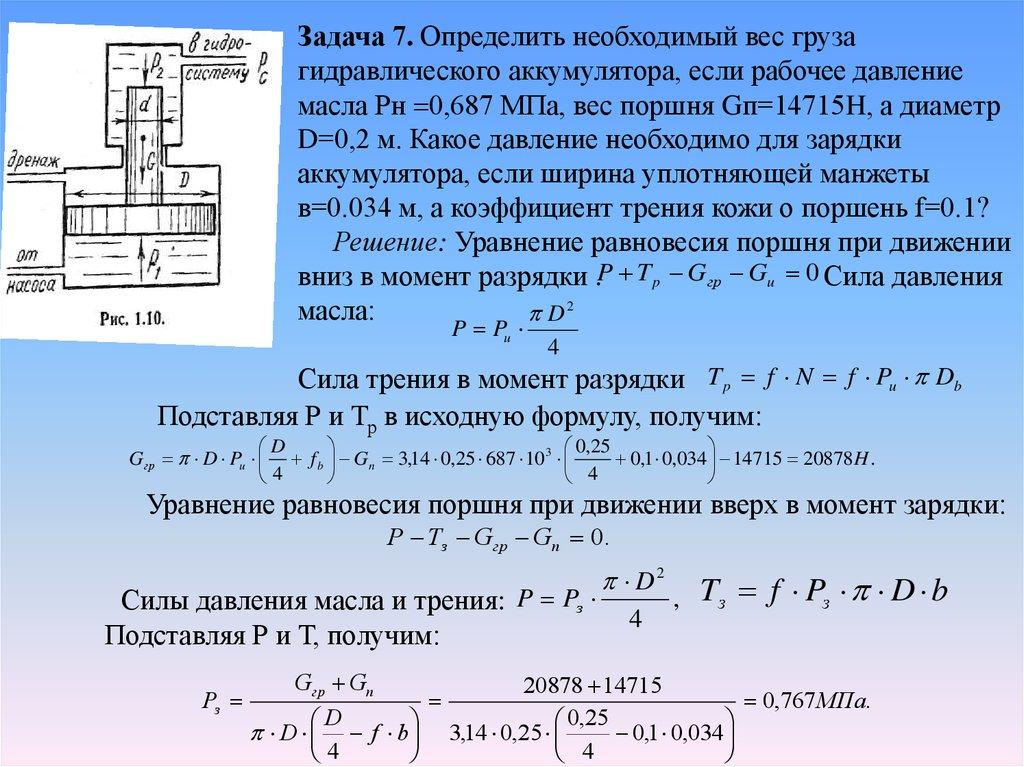 Решение задачи с поршнем триз теория решения изобретательских задач кудрявцев
