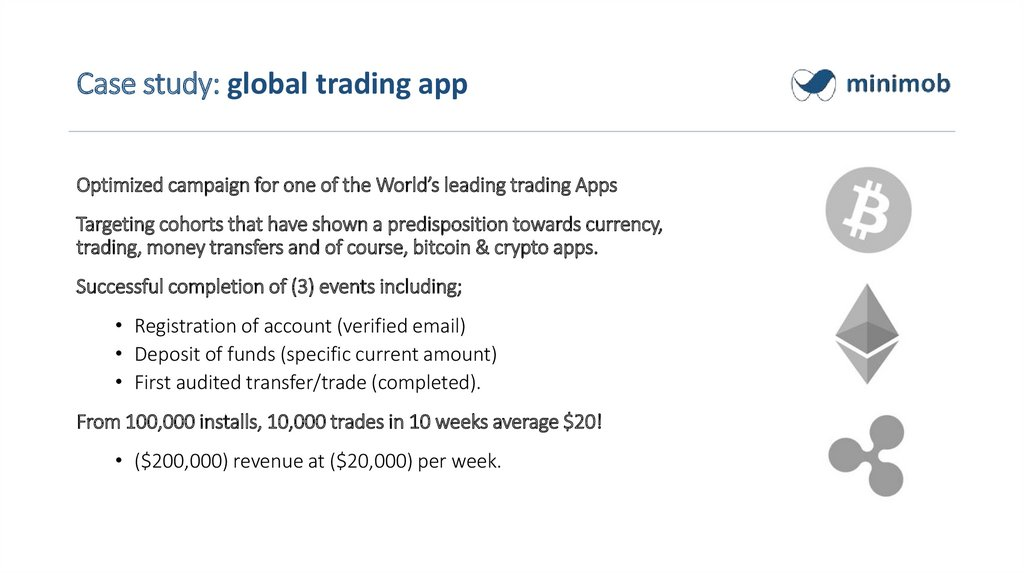 Case study: global trading app