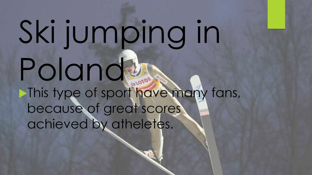 Ski jumping in Poland