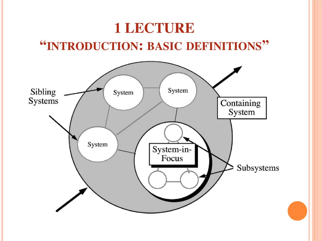 "1 LECTURE ""introduction: basic definitions"""