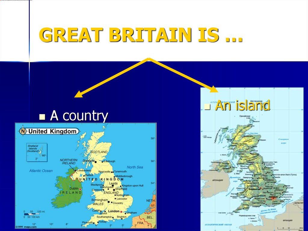 GREAT BRITAIN IS …