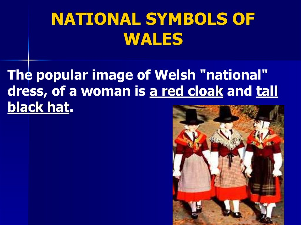 NATIONAL SYMBOLS OF WALES
