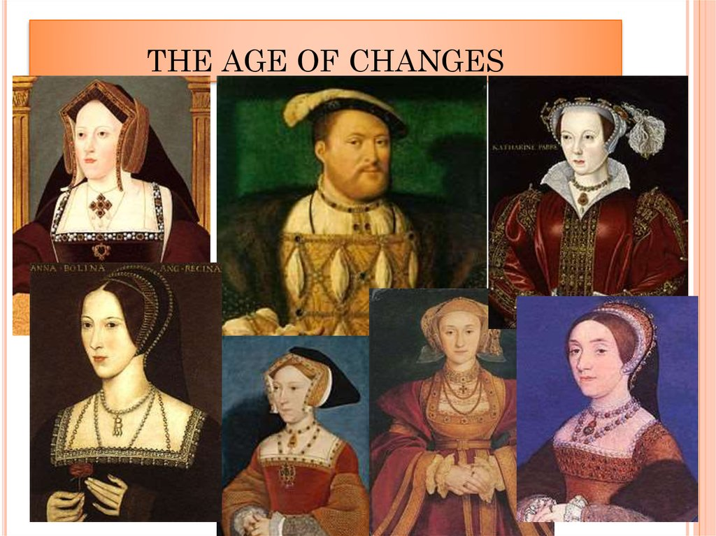 THE AGE OF CHANGES