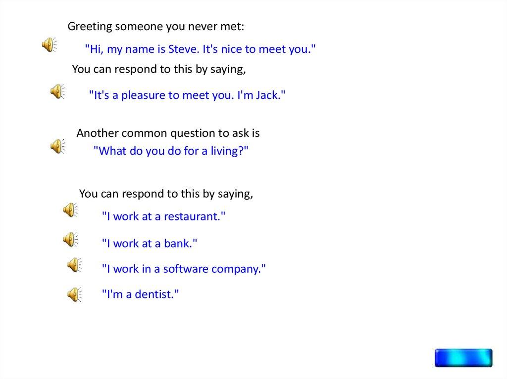 Everyday English. Conversations. Presented by - презентация онлайн