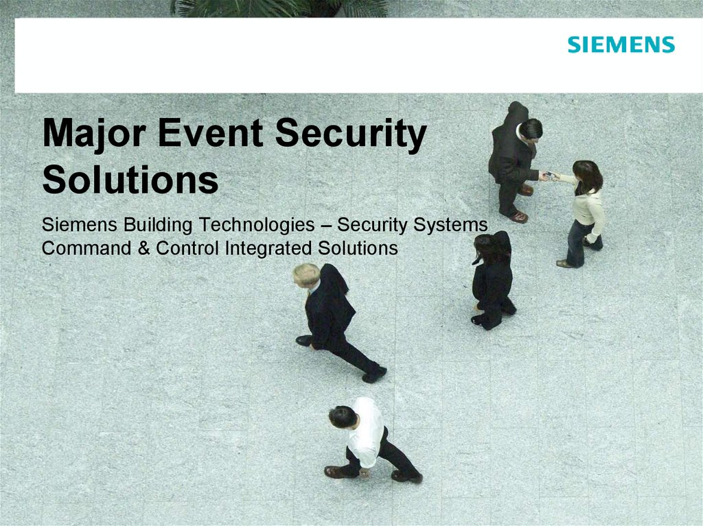 Major Event Security Solutions