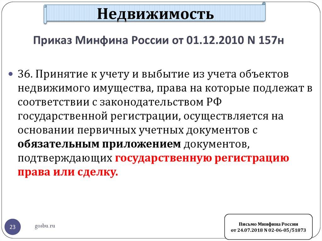 Приказ минфина о внесении изменений в приказ минфина от 1 декабря.