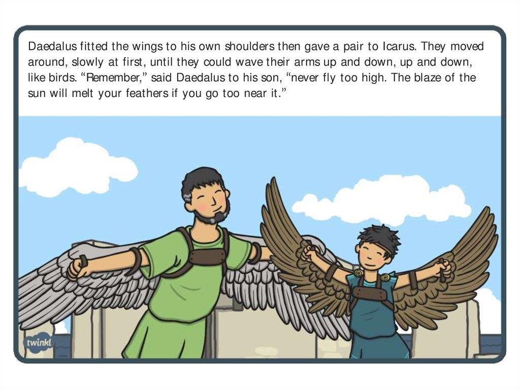 Icarus Story презентация онлайн