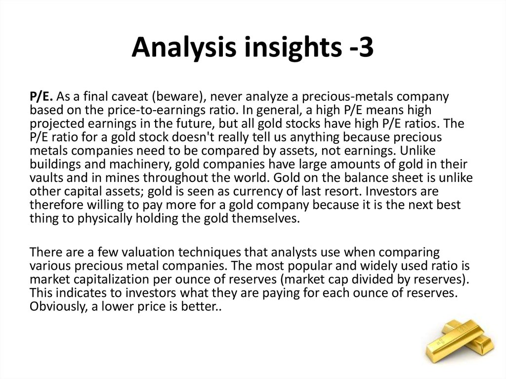 Analysis insights -3